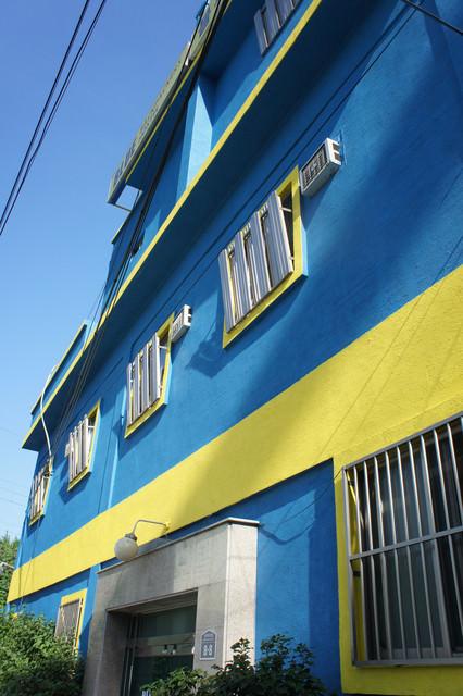 【釜山-西面站】블루 백팩커스 호스텔藍色背包客旅館