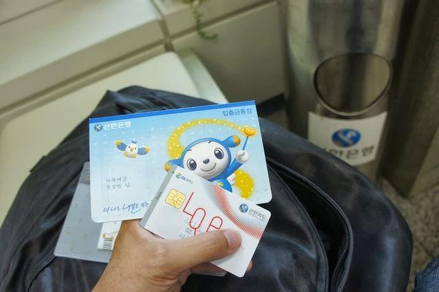 【銀行開戶】韓國新韓銀行開戶 + CHECK CARD當地信用卡申請 + 使用教學
