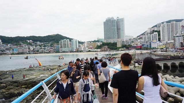【釜山-松島】韓國最長365m~享受漫步雲端的滋味 – 松島天空步道 (송도구름산책로/松島雲端散步路)
