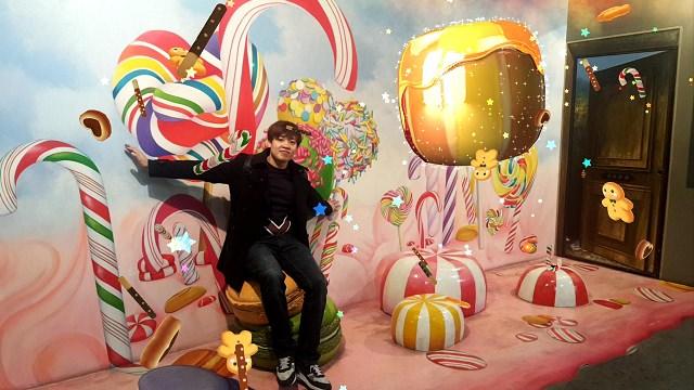 【弘大入口站】全球首家使用AR 擴增實境技術的 Trickeye特麗愛3D美術館,讓你不只拍照更要拍影片!!(트릭아이미술관) 韓星 金秀賢也來過!