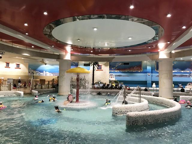 【文來站】希臘地中海風格超大型 SeaLaLa 水上樂園/SPA/汗蒸幕(蒸氣房)-韓劇그대 웃어요(意外的人生)拍攝地!~2018年9月更新版