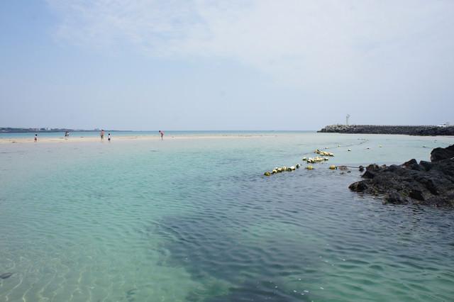 【濟州島-西歸浦市】仙境般的海水浴場 – 表善海水浴場(表善日光海灘)