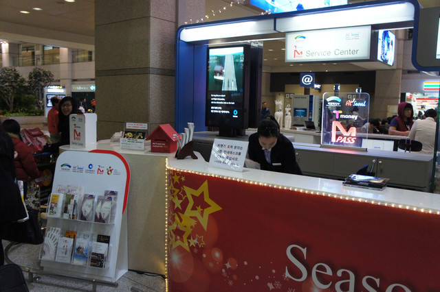 【交通卡】2012年最新首爾地鐵交通卡M-PASS卡 (T-MONEY無限搭乘交通卡)