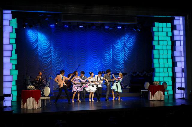 【弘大入口站】繼亂打秀之後最新音樂舞台劇力作『Music Show Wedding音樂秀 結婚快樂』採排、採訪、表演獨家曝光!