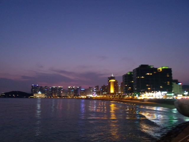 韓國今年最夯避暑勝地,美麗、科技並具『釜山 – 海雲台 (海水浴場)』