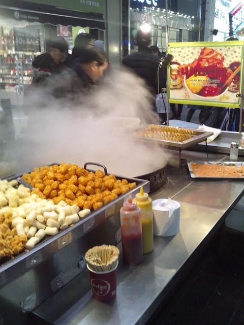 韓國明洞也有賣鹹酥雞?!나이스컵닭NICE 炸雞杯