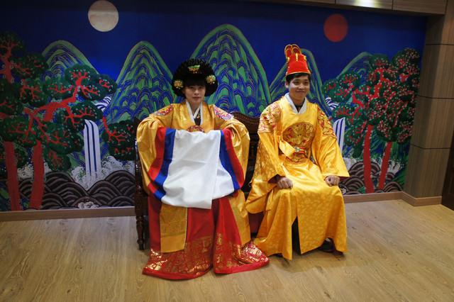 【釜山-大淵站】免費體驗韓服拍照+免費參觀釜山歷史文物『釜山博物館부산박물관』