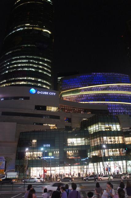 【新道林站】韓國大型複合商城D-Cube City多客福城市(2011.8/26開幕)