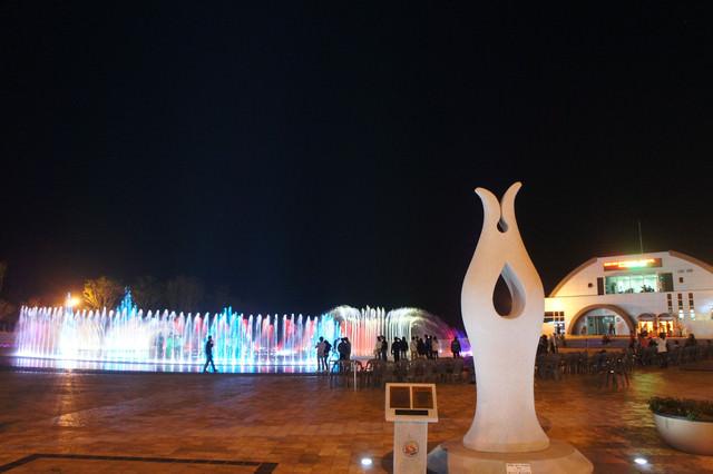 【釜山】震憾的聲光噴泉大秀- 『多大浦夢幻噴水』