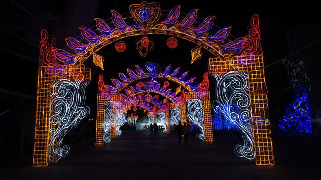 【濟州島-西歸浦市】2012年不可錯過的Luminarie光之盛宴제주 루미나리에 빛의 축제(in 西歸浦世界盃競技場)