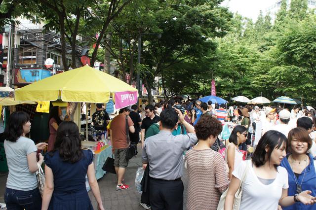 【弘大入口站】每週只有一次的創意市集 – 弘大自由市場프리마켓