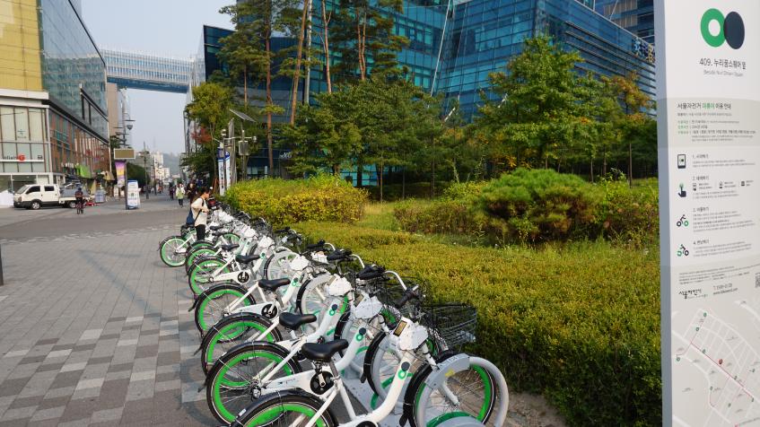 【交通】首爾全新公共自行車『SEOUL BIKE/따릉이』正式上路~首爾任你騎7天只要3000韓元(約85元台幣)!
