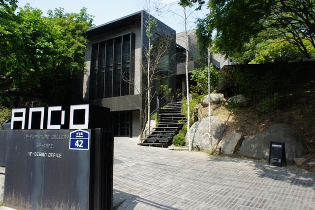 【漢城大入口站】韓劇49일中 韓江社長開的HEAVEN咖啡店 (ANDO)