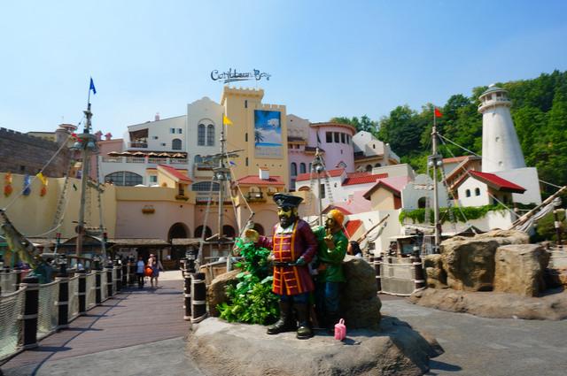 【前垈.愛寶樂園站】夏天玩水趣!!前進韓國超人氣水上樂園『加勒比海灣캐리비안베이』