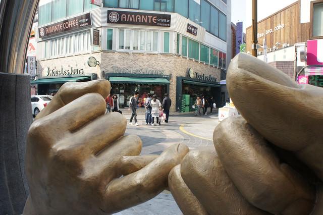 【釜山-西面站】釜山最大購物區 – 西面樂天百貨&免稅店、SPAO、美利來、地下商街 、教保文庫