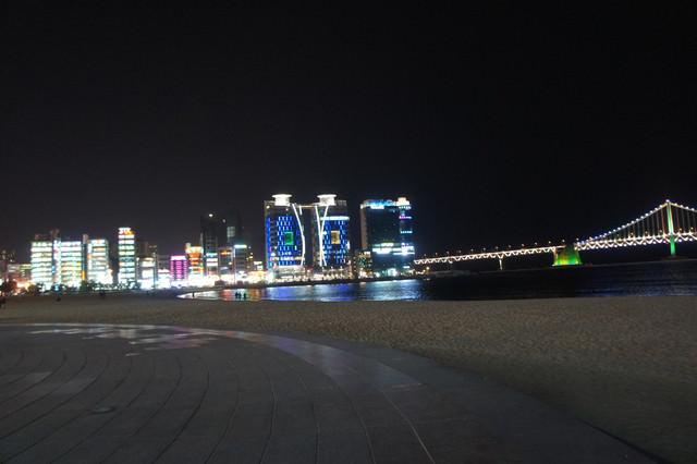 【釜山-廣安站】美麗海岸線 廣安海水浴場 + 廣安大橋 (生魚片中心+海邊遊樂園)