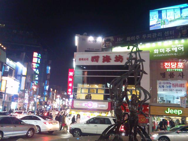 【釜山-南浦站】釜山精華鬧區-血拼必去- 樂天百貨光復店、光復路時裝街、PIFF廣場、阿里郎電影街