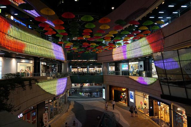 【合井站】弘大商圈旁最大複合商場 MECENATPOLIS 메세나폴리스 (2013年7月新開幕)