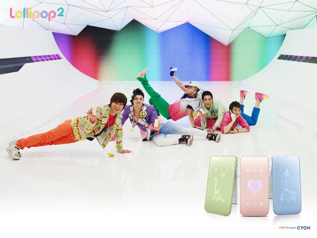 韓國LG CYON 棒棒糖二代機롤리팝2 -粉彩色夢幻變身!!빅뱅BIG BANG最新廣告曲、廣告大公開~
