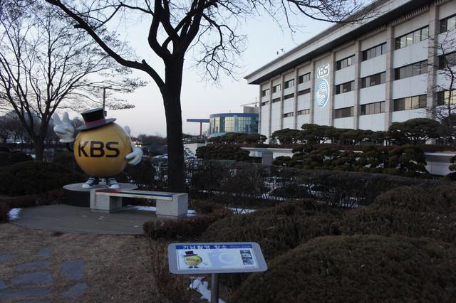 【國會議事堂站】走進KBS了解韓國影視生活.KBS參觀教學大廳KBS ON